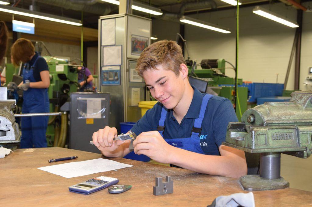 Industriemechaniker 1. Lehrjahr